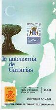España Estatuto de Autonomía de Canarias año 1984 (DS-621)