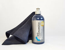 Koch Chemie Protect Leather Care 500 ml Lederpflege + Mikrofasertuch schwarz