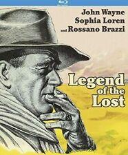 Legend of the Lost Blu-ray Disc 2017 John Wayne Sophia Loren Rossano Brazzi NEW