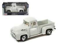 1956 Ford F-100 Pickup 1:24 Diecast Truck Model White - Motormax 73235WH*