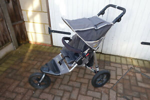 Out n About Nipper single sport all-terrain pushchair, multiple accessories