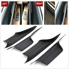 4PC Car Inner Door Panel Handle Pull Trim Cover ForBMW F01 F02 7Series 730 740