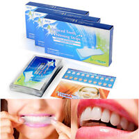 28 PROFESSIONAL TEETH WHITENING STRIPS HOME TOOTH BLEACHING WHITE WHITESTRIPS