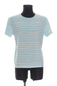 MARC by MARC JACOBS Men's striped short sleeved crew neck Top T-Shirt Size L