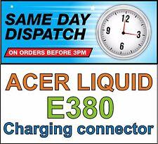 ACER LIQUID E3 E380 Micro USB Charging Connector Port Block Socket DC Jack