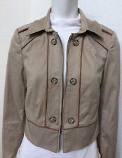 $140.00 White House Black Market Size 0P Women's Long Sleeve Cropped Jacket