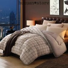 Luxury Down Comforter Core Feather Blanket Twin King Sz Duvet Classic Down Quilt