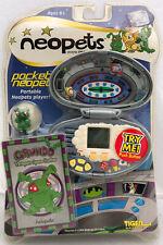 Neopets Pocket Grundo Tiger Portable Player Figure 2002 Electronic Handheld Game