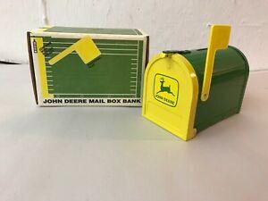 1990 Licensed JOHN DEERE ERTL MAILBOX BANK NEW OLD STOCK  MIB TOY