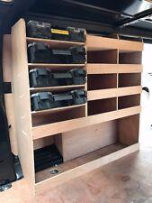 Citroen Dispatch L3 LWB Plywood Van Shelving Racking System Case Storage Unit