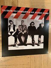 U2 How To Dismantle An Atomic Bomb Promo Album Flat