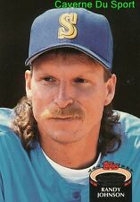 720  RANDY JOHNSON  SEATTLE MARINERS TOPPS BASEBALL CARD STADIUM CLUB 1992