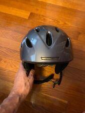 Giro G9 Helmet Jr Size S Boys Grey Snowboard Snow Sport 53-55.5 cm