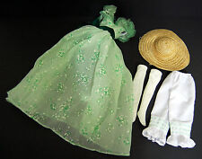 Gone with the Wind Scarlett O'hara Barbeque at Twelve Oaks Franklin Mint Outfit