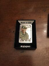 1968 John Wayne Soldier Zippo Lighter