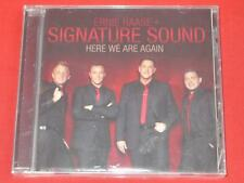 Here We Are Again by Ernie Haase & Signature Sound (CD, Feb-2012, Sony Music Ent