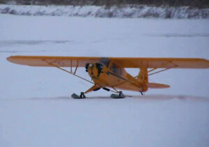 """1/4 Scale Skis for R/C Airplanes Plans,Templates and Instructions 18"""" Long"""