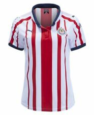 Puma Women's Chivas 2018-19 Home Red/White Jersey Size Large