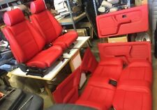 BMW e30 325/318 New Red/any Color Seats Set & Cards For IS & I 1982-91 $3500.00