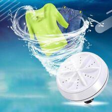Mini Ultrasonic Washing Machine Portable Turbo Rotating Washer Powered By USB