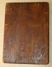 """Antique Primitive Wood Kitchenware Bread Cutting Board Country Living ~15""""x21"""""""