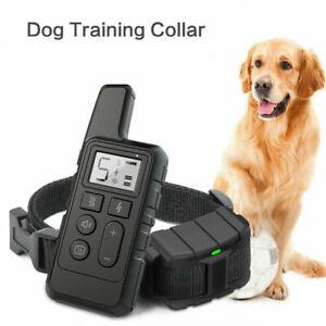 Vibration mit Fernbedienung Antibell Collar Hunde Ferntrainer Erziehungshalsband
