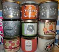 Bath & Body Works 3 Wick Candles *you pick* NEW SCENTS