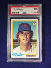 1978 Topps Jackson Todd #481 PSA 9 New York Mets