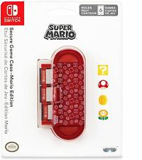 Nintendo Switch Secure Game Case: Mario Edition - PDP Gaming Accessory NEW