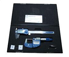 MOORE und WRIGHT DIGITALE Mikrometer und DIGITALE ZANGEN SATZ MW200 SET4