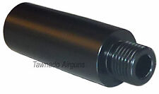 SILENCER ADAPTER 1/2 UNF  for 15mm  barrels with TWO grub screws for extra grip