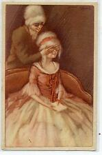 La Sorpresa Donnine con Cappelli Moda Glamour Fashion Girls PC Circa 1920