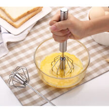 Stainless Easy Whisk Mixer Egg Cream Stirrer Sauce Shaker Cake Blender Beater LK