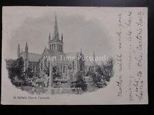 Norfolk ST NICHOLAS CHURCH Great Yarmouth c1903 (PM) NORWICH DUPLEX 574