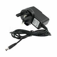 1PCS UK Plug 100-240V AC to DC 9V 1000mA 1A Power Adapter Plug