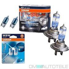 SET 2x OSRAM H7 Night Breaker Unlimited 110% 55W + 2x W5W Standlicht 4000K OVP