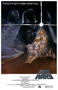 Star Wars: Episode 4 IV - A New Hope Movie Poster (1977) - USA - NEW