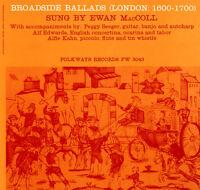 Ewan MacColl - Broadside Ballads, Vol. 1 (London: 1600-1700) [New CD]