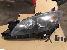 04-09 MAZDA 3 SEDAN DRIVER  LEFT LH HEADLIGHT HEAD LIGHT LAMP HID XENON