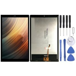 BLACK LCD Panel Screen Digitizer Full Frame For Lenovo YOGA Tab 3 Plus YT-X703