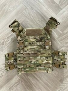 Warrior Recon Plate Carrier Tactical Vest Multicam Hardly Used