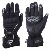 Rukka Virium X-Trafit  Black 100 % WP  - Gore-tex Motorcycle GTX Gloves