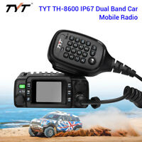 TH-8600 Portable Waterproof IP67 VHF/UHF Car Mobile Radio Ham 2 Way Transceiver