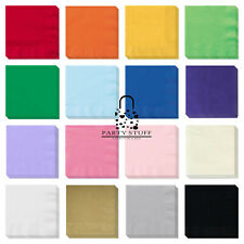 Paper Napkins Party Tableware 16 colors Disposable Catering Disposable