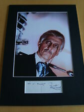 Peter Cushing Genuine signed authentic autograph - UACC / AFTAL.
