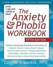 The Anxiety and Phobia Workbook Fifth Edition By Edmund J. Bourne Paperback Book
