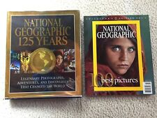 National Geographic 125 Years and National Geographic  100 Best Pictures