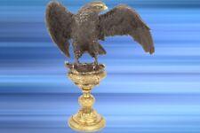 BRONZE Skulptur Adler Vintage Ästhetik Geschenk extravagante Luxus Dekoration
