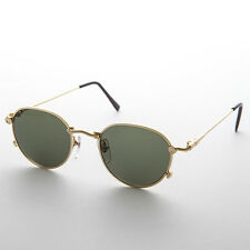 Preppy Gold Steampunk Sunglass with Metal Nuts and Bolts - STEAMBOY