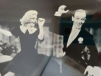 Fred Astaire Ginger Rogers Dancing Repro Photo Near Mint Ebay